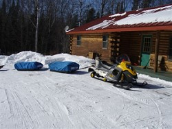 Eagle River Wisconsin vacation cabin lodging rental in Vilas County Wisconsin from Al Gall Guide Service